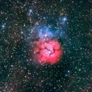 M20 (Trifid nebula).,                                Ofiuco