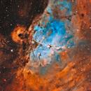 M16 Eagle Nebula,                                Gorilla_astro