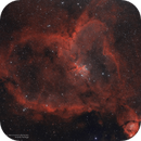 Heart Nebula (IC 1805) Ha+OIII,                                Andres Noriega