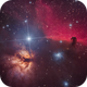 Vivid Nebulae in Orion's Belt,                                Brian F