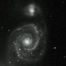Galaxie du Tourbillon (M51),                                Julien Drevon
