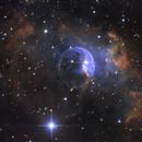NGC7635 bubble nubula,                                CoFF
