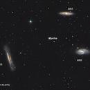Asteroid Myrrha in Leo Triplet,                                Ahmet Kale