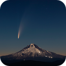 C/2020 F3 Neowise over Mount Hood,                                Kevin Morefield