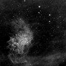 IC405 - The Flaming Star Nebula in Ha,                                Eric COUSTAL ( F5...