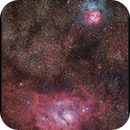 M20 - M8,                                sky-watcher (johny)