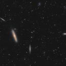 The Silver Streak Galaxy, NGC 4216 and friends,                                Boris US5WU