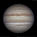 Jupiter | RGB | 2018-05-09 05:53.3 UTC,                                Chappel Astro