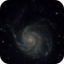 M101 Pinwheel Galaxy,                                Mahmange