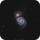 M51 Whirlpool Galaxy,                                Sylvain Lefebvre
