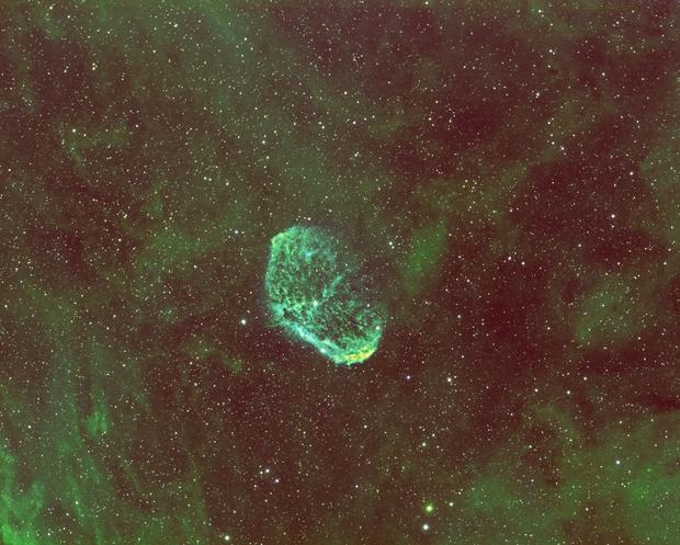 NGC 6888,                                Velvet