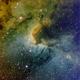 Cave Nebula,                                  Seymore Stars