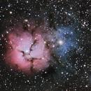 Trifid Nebula,                                Michael Finan