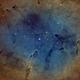 IC 1396 - Elephant's Trunk nebula - SHO,                                Elboubou