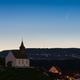 Comet Neowise over Rheinau (7.7.2020),                                Christoph Wetter