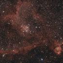 [Neb] IC1805 (Nébuleuse du Coeur) @Calern,                                Raypulsif