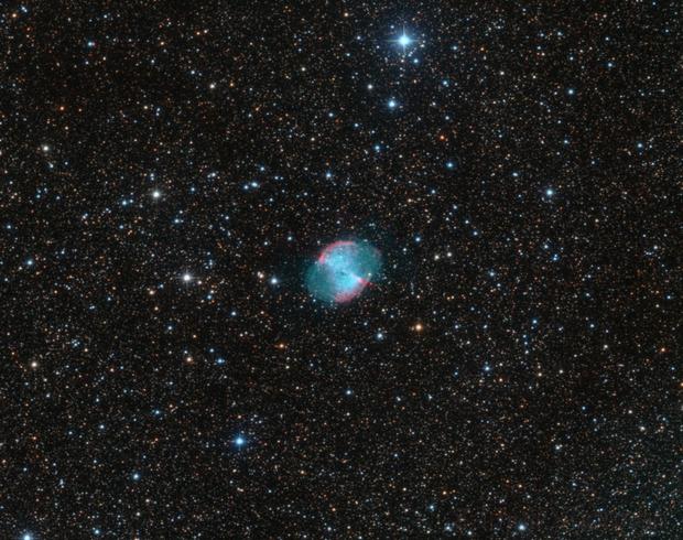 M27 - The Dumbbell Nebula,                                Samuli Vuorinen