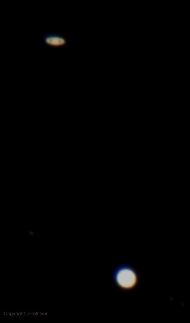 2020 Great Conjunction / 2020 Christmas Star,                                Scott Iver