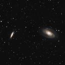 M81 Bode's Galaxy - M82 Cigar Galaxy 20200919 8400s 01.4.3,                                Allan Alaoui