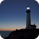 Saturn-Jupiter conjunction at Pigeon Point lighthouse - try #2,                                pfile
