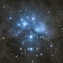 The Pleiades - Messier 45,                                Henrique Silva