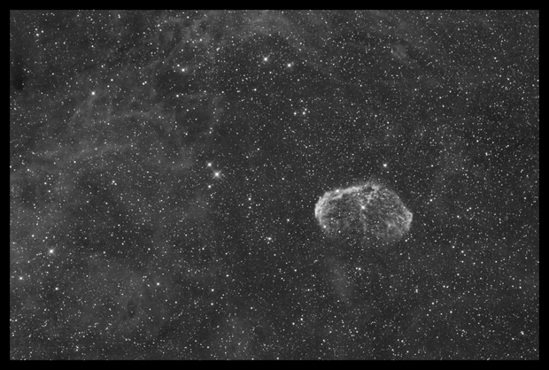 NGC 6888 - Crescent Nebula,                                Kenneth Sneis