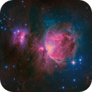 Orion and Running Man Nebulae  (M42, Sh2-279),                                JOHN QUINN