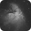 NGC281 - 4 panels mosaic,                                Mark