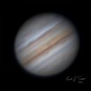 First Successful Jupiter planetary image,                                Brandon Tackett