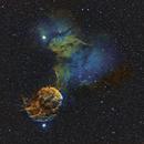 IC443 in HST palette,                                Gordon Haynes