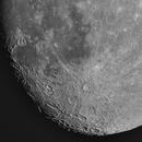Moon 84% illuminated South Libration -5,33,                                Siegfried