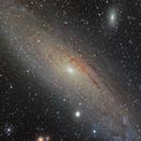 Galaxie d'Andromède (Messier 31),                                mario_hebert