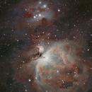 Orion Nebula HDR,                                Steve Hunter