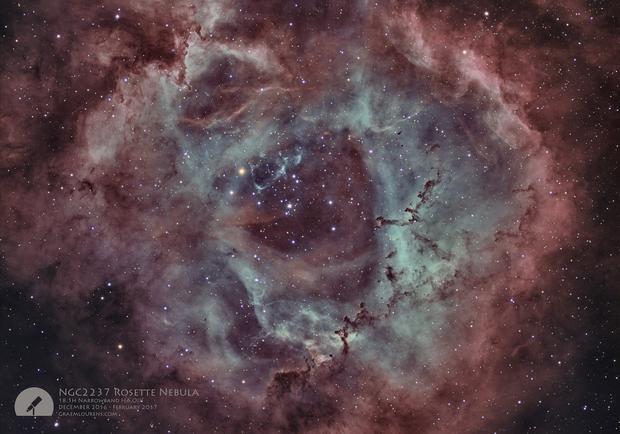 NGC2237 Rosette Nebula,                                Graem Lourens