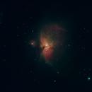 Erstes Astrofoto Orionnebel,                                Jörg