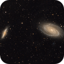 Galaxies M81 and M82 in Ursa Major,                                Keith Lisk