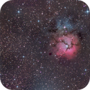 Reprocessed Messier 20,                                Miles Zhou