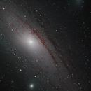 M31 Andromeda Galaxy From Kelling Heath - Mosaic Work in Progress,                                antonenright