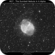 M27 - The Dumbell Nebula Ha,                                Brice Blanc