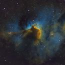 Sh2-155 - Cave Nebula SHO (RGB Stars),                                Kurt Zeppetello