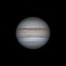Io Exiting Jupiter's Shadow on June 4, 2019,                                JDJ