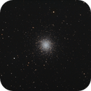M13-RGB-The Great Hercules Cluster in Hercules,                                LazyLightning