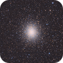 Omega Centauri - processing an old picture!,                                Pedro A. Sampaio