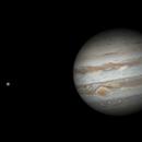 Jupiter and Io (animation),                                Dzmitry Kananovich