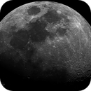Lunar Disc Mosaic, Waxing Gibbous, 68% Illumination, April 24th 2018,                                Martin (Marty) Wise
