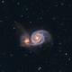 M51 - Whirlpool Galaxy (2020),                                Kurt Zeppetello