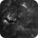 Sadr area mosaic of summer 2005 (over 120 frames) - V2 little reprocessing (denoise and sharpen),                                Stefano Ciapetti