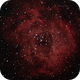 NGC 2244 - Photoshop Reprocess,                                CAPsMANyo