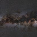 Milky Way mosaic from Cepheus to Scorpio,                                Máximo Bustamante