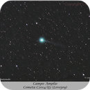 Cometa C/2014 Q2 (Lovejoy) - Piggyback,                                Carlos A. Archila